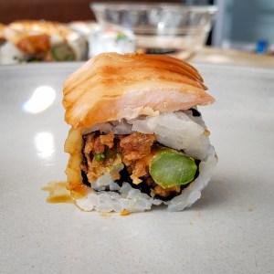 Salmon Yaki Roll from Tomo Sushi and Ramen