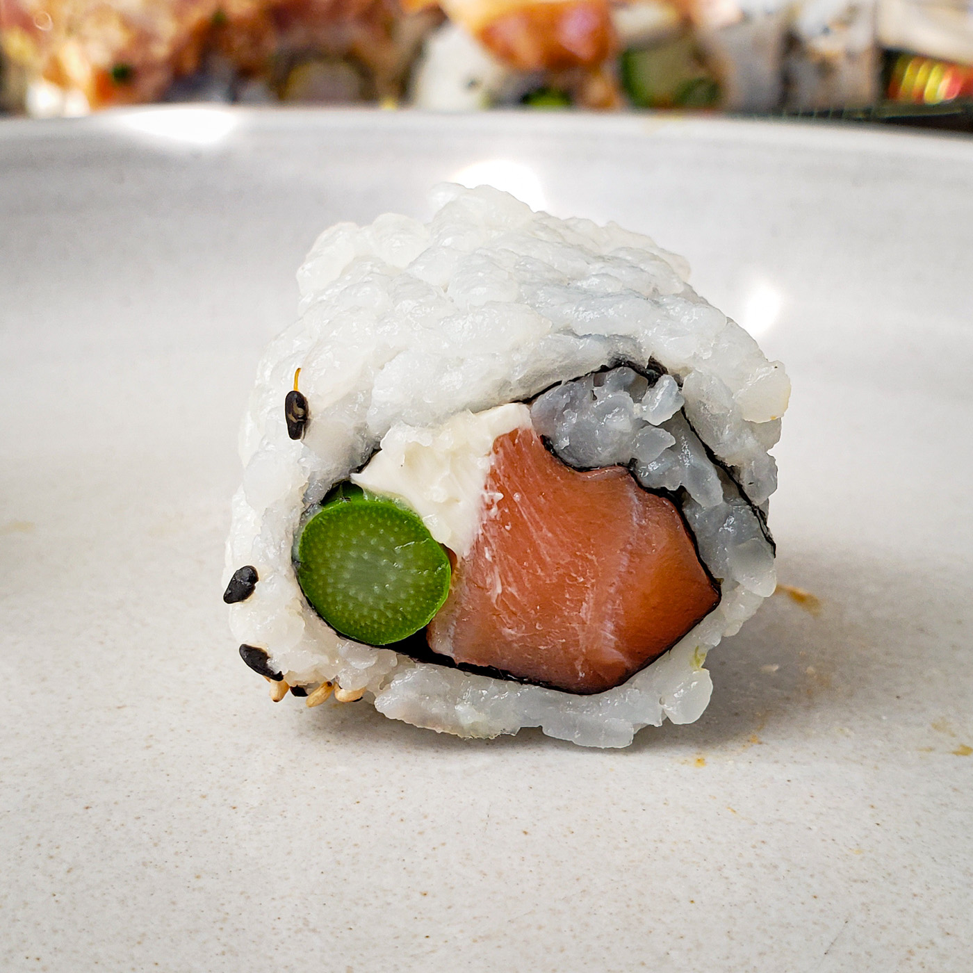 Philly Roll from Tomo Sushi and Ramen