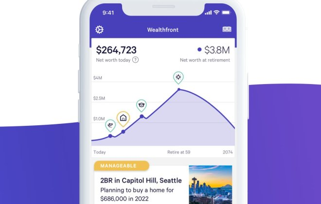 wealthfront mobile dashboard