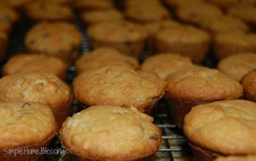 mini monkey muffins