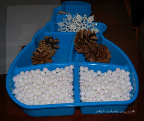 Winter Sensory Box 3