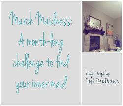 march maidness button