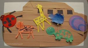 noah's ark with animals_opt