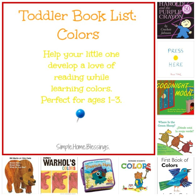 Toddler Book List_Colors 1