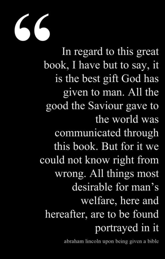 Lincoln Quote