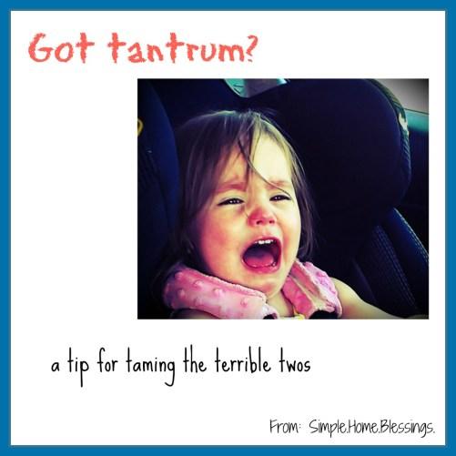 Got Tantrum