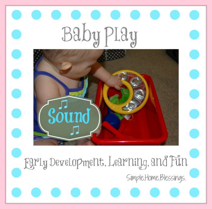 Baby Play Sound Pin