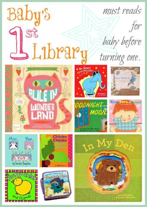 Baby's First Library - must have baby books