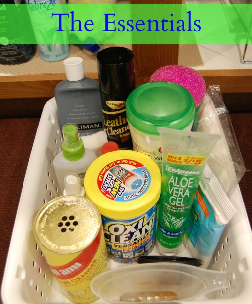 Essential Cleaning supplies