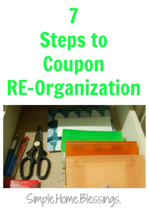 coupon re-organization