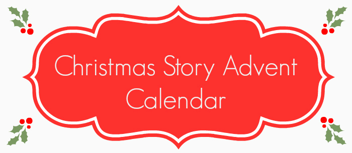 Christmas Story Advent Calendar - for toddlerspreschoolers