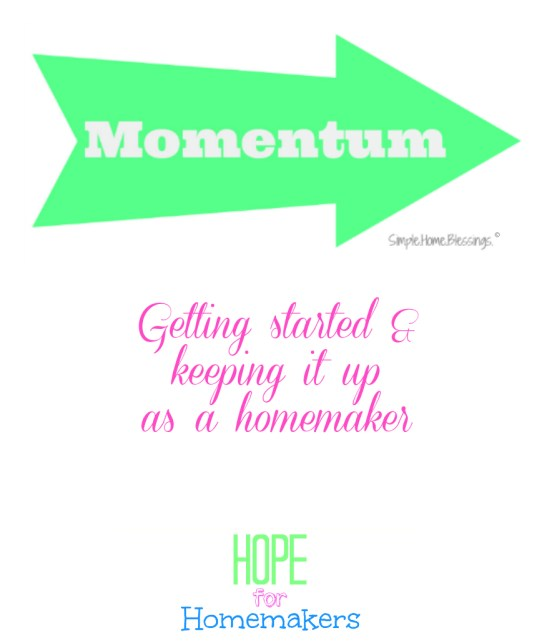 momentum - how to get it and keep it