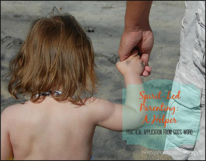 Spirit-Led Parenting - A Helper