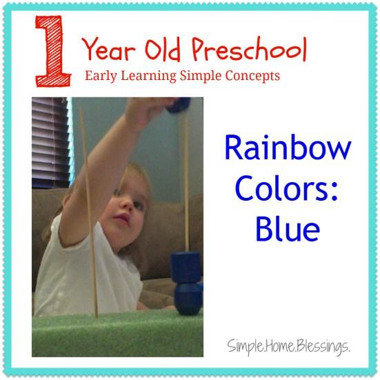 1 year old preschool blue