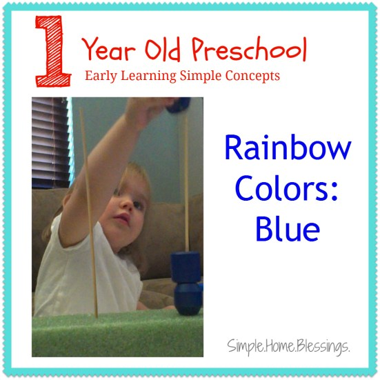 1 year old preschool blue