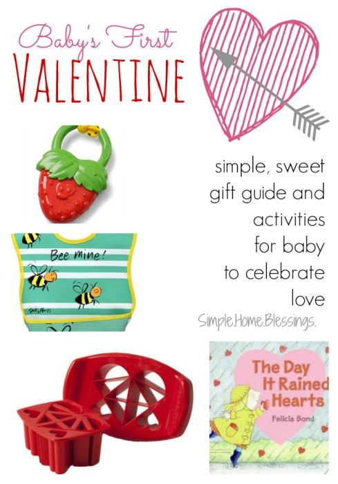 Baby's First Valentine gift and activity guide