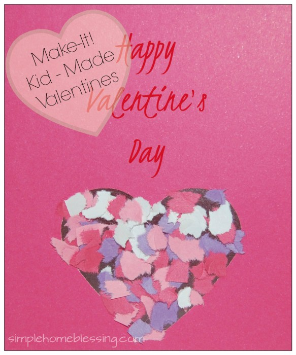 Contact Paper Valentine - Kid Made Valentines