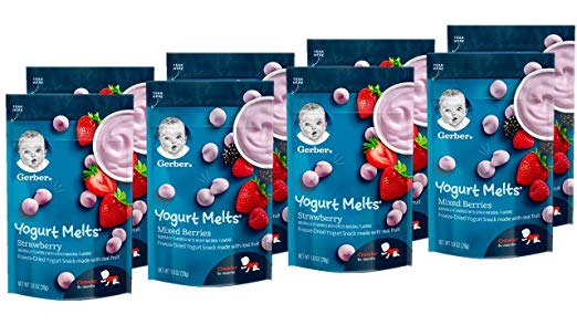 yogurt melts to melt your little one's heart on his first Valentine's day