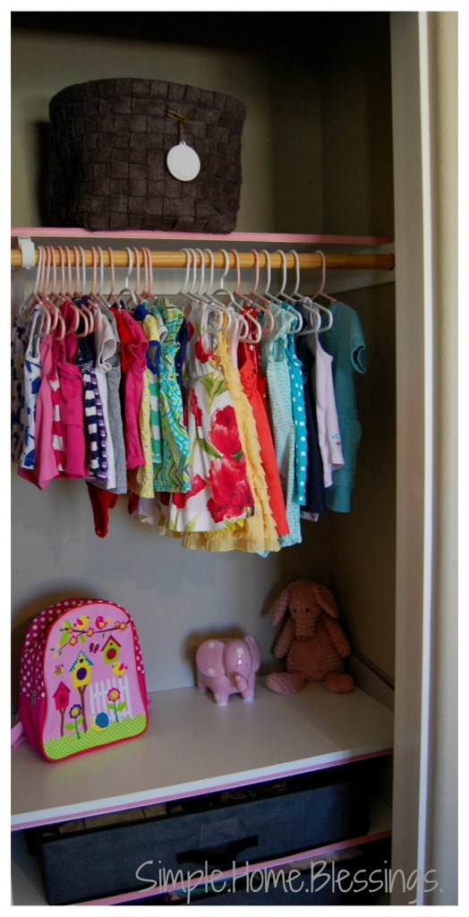Kids Shared Closet Makeover Reveal
