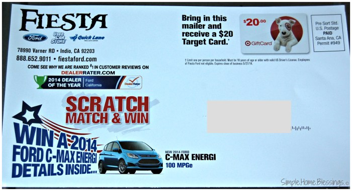 Holiday Weekend Promotions - Cash in!