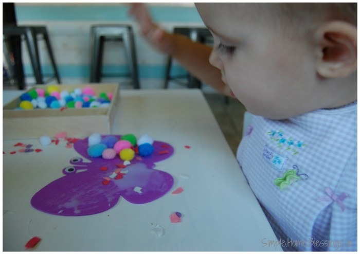 Simple Butterfly Craft for Toddlers