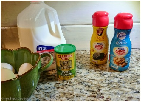 Coffee-mate #LatinTouch Dulce de Leche Custard prep