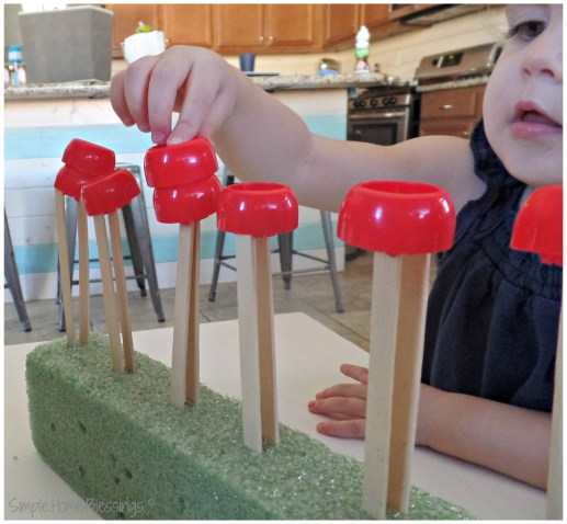 Apple Stacking Game for Preschool and Toddlers - so simple, so fun!