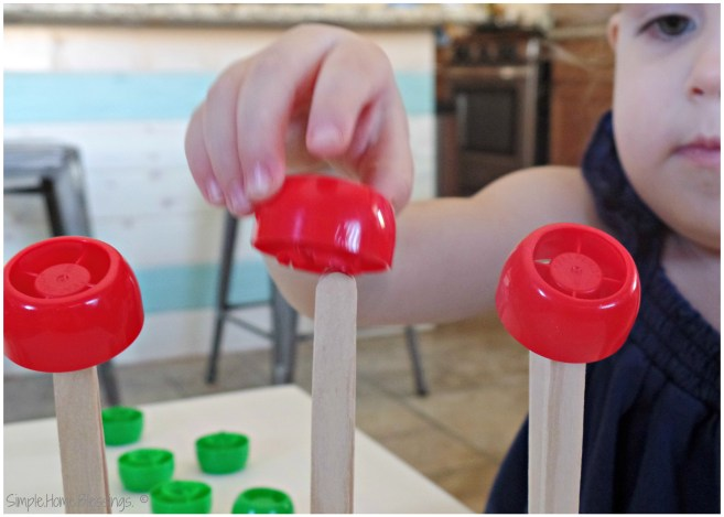 Apple Stacking Game for Toddlers