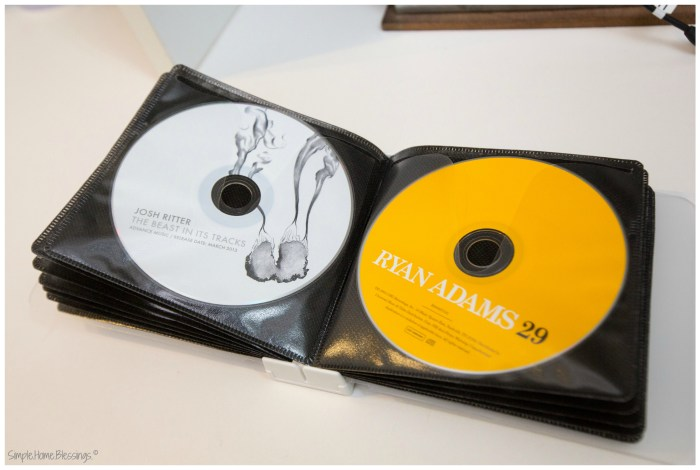 Media Storage Makeover - Grab and Go CD solution