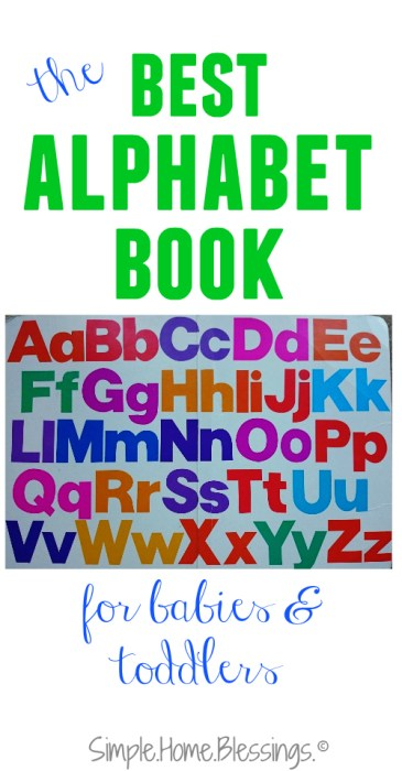 our absolute favorite, must-have alphabet book for babies and toddlers - with tips for reading to young ones