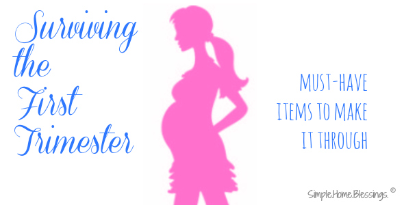 Essential Items for surviving the first trimester