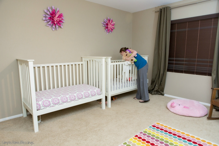 Girls' Shared Bedroom - toddlers