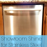 Showroom Shine for Stainless Steel