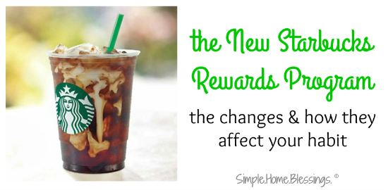 a quick analysis of the changes to the Starbucks Rewards program scheduled to take effect in April 2016.