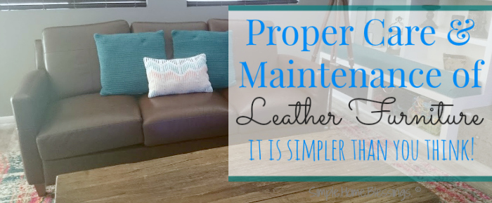Leather Furniture Care proper care and maintenance of leather furniture - simple. home