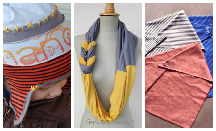 upcycled clothing - accessorieshats