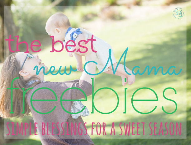 the best Freebies for new moms - the very best freebies (not coupons). This list includes things I had never heard of before!