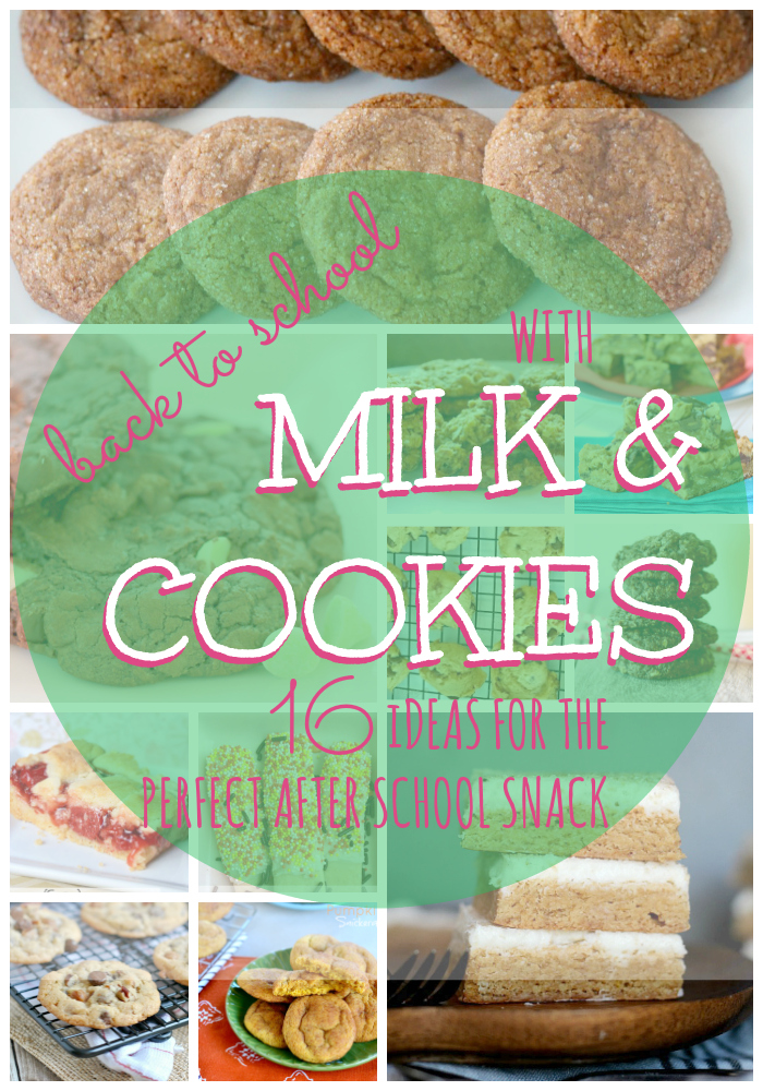 get ready for back to school with these recipes for cookies that pair perfectly with milk. BONUS these recipes are perfect for kids to make themselves!