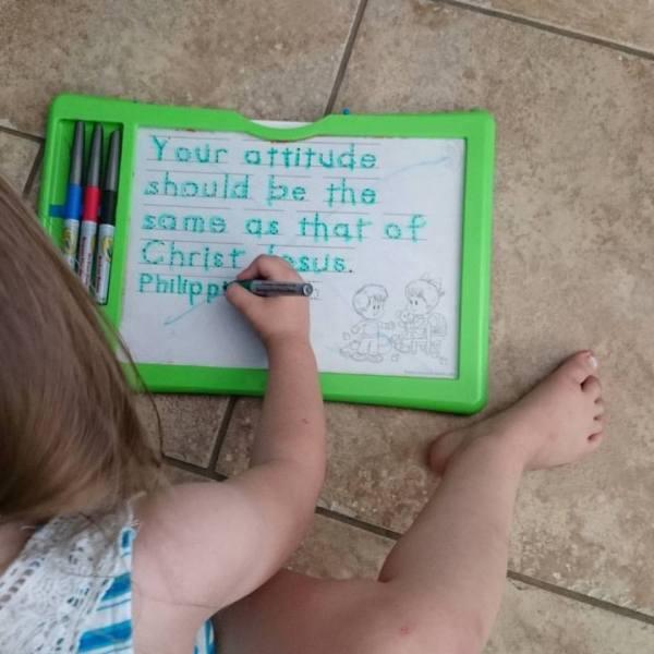 Homeschool Kindergarten choices - writing