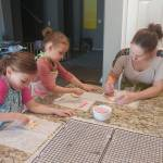 The girls got me a cookie decorating kit to playhellip