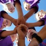 Love this shot of Wrens soccer team! ayso rookies