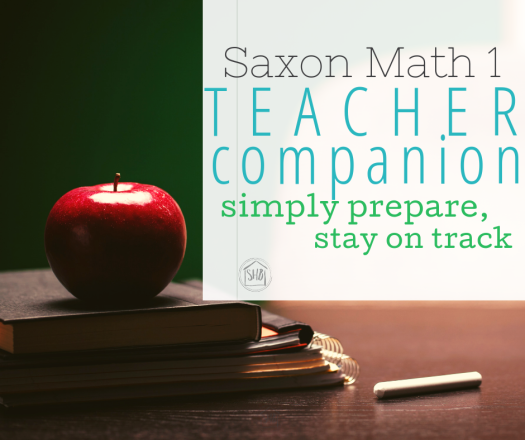 "Save precious prep time and stay on track with Saxon math 1 with this teacher companion.  All ""the night before"" items are here."