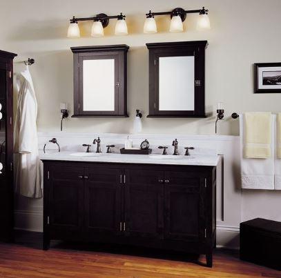 bathroom vanity lighting ideas to