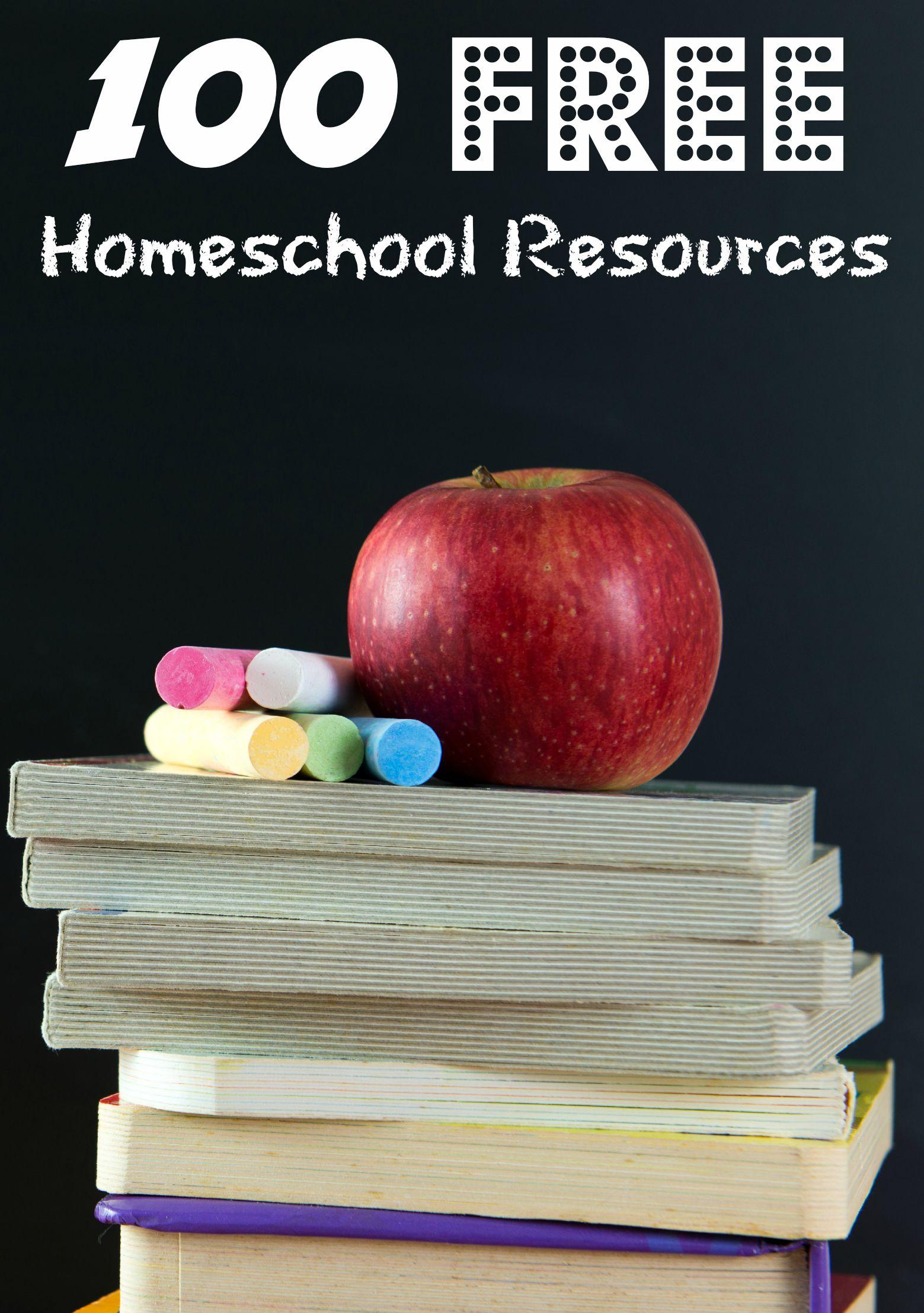 100 Free Homeschool Resources