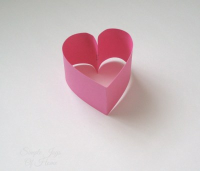Simple Joys Of Home: Papercraft Heart Shape