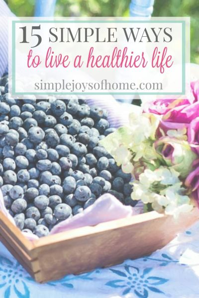 Do you want to live a healthier life, but feel overwhelmed and don't know where to start? These small changes will help you on your way today!