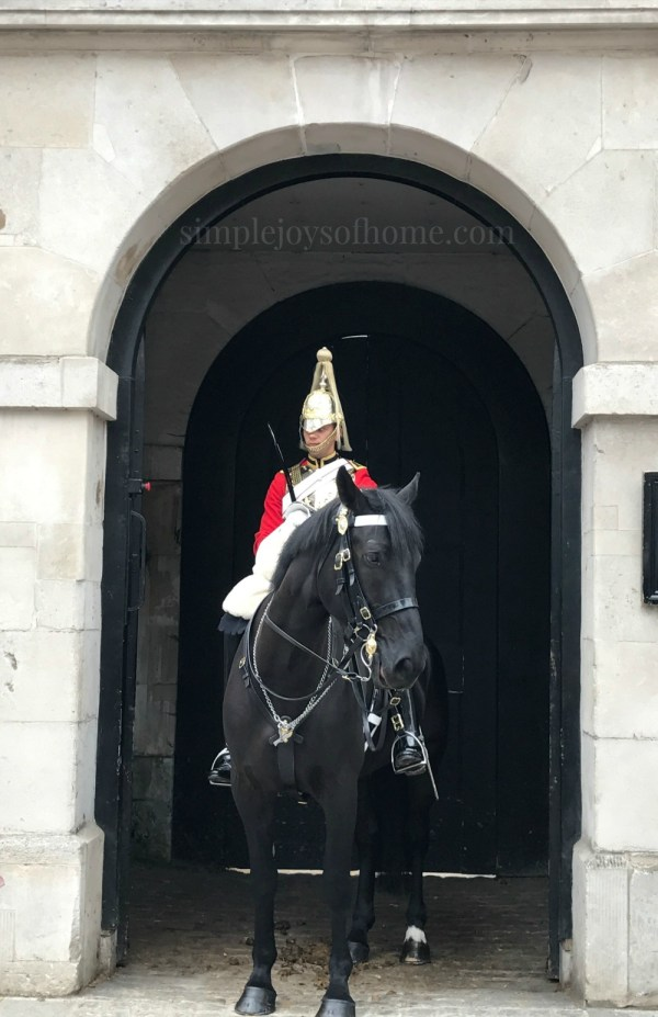 Horse Guard on duty | Simple Joys Of Home