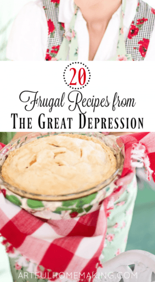 Homestead Blog Hop Feature - depression-era-frugal-recipes