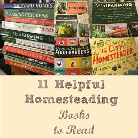 Homestead Blog Hop Feature - helpful-homesteading-books-to-read
