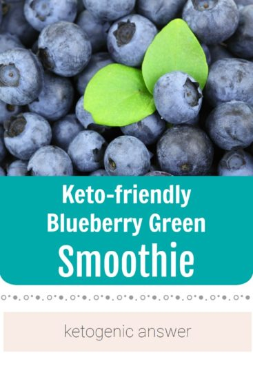 Homestead Blog Hop Feature - keto-friendly-blueberry-green-smoothies